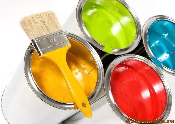 Акриловая краска для ванной комнаты