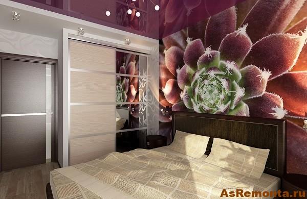 дизайн квартир фото с комбинированными обои