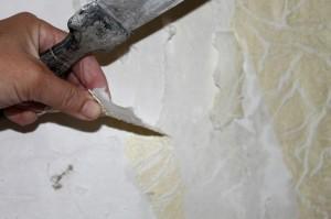 Как удалить старые обои со стен из гипсокартона