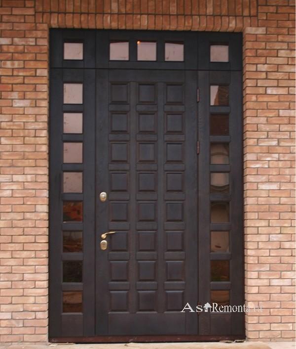 Двери металлические входные уличные утепленные