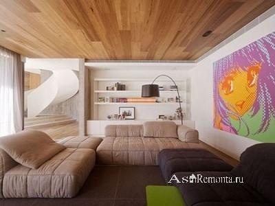 Новый стиль потолка