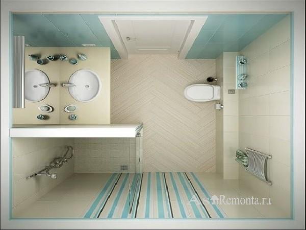 Туалет с раковиной дизайн фото