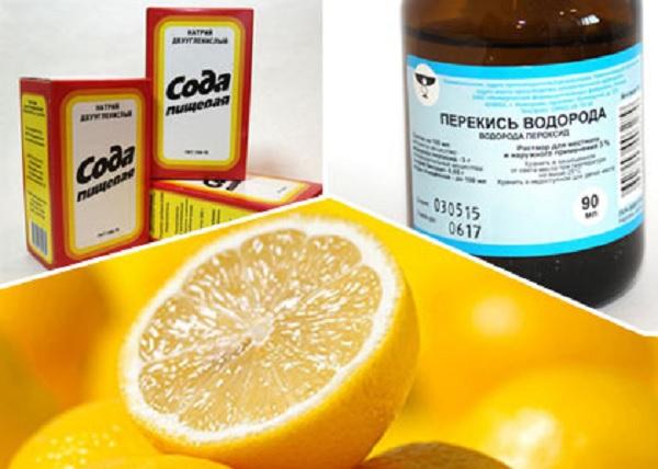 Отбеливание зубов перекисью и содой рецепт